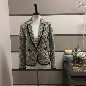 Anthropologie-Cartonnier Tweed Blazer